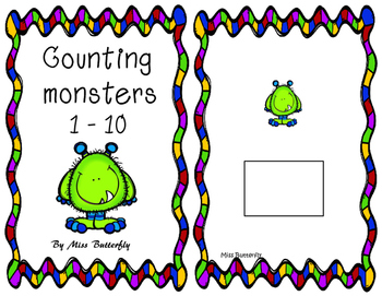 Adapted Book - Counting monsters 1 to 10