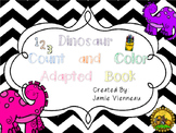 Adapted Book: Dinosaurs Count and Color