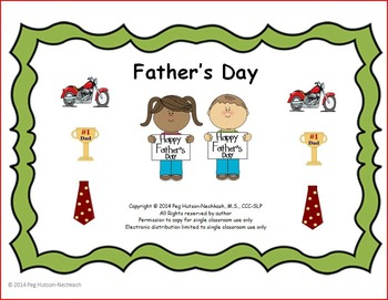 Father's Day: An Interactive Book