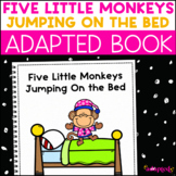 Five Little Monkeys Jumping On the Bed: Adapted Book for Students with Autism