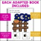 Five Little Pumpkins: Adapted Book for students with Autism
