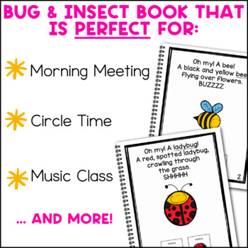 Going On a Bug Hunt: Adapted Book for Early Childhood Special Education