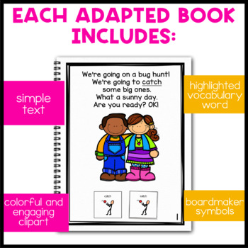 Going On a Bug Hunt: Adapted Book for Students with Autism & Special Needs