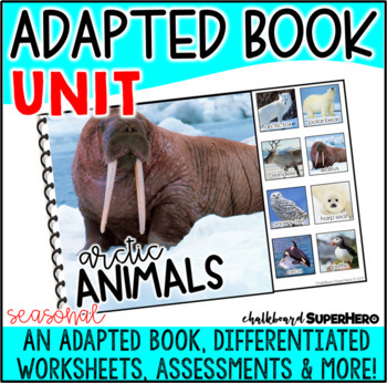 Adapted Book Guided Reading Lesson: Arctic Animals