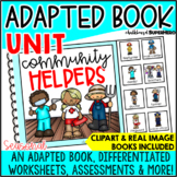 Adapted Book Guided Reading Lesson: Community Helpers