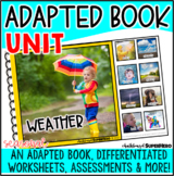 Adapted Book Guided Reading Lesson: Weather