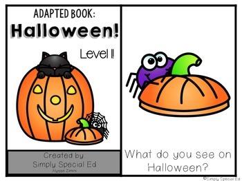 Adapted Book: Halloween!
