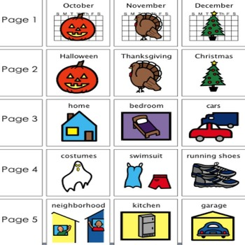 "Adapted Book ""Halloween"" with WH Questions (for special education)"