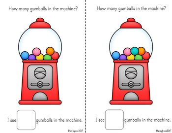 Adapted Book - How Many Gumballs