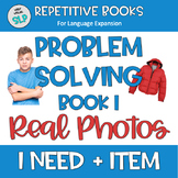 Adapted Book I NEED + ITEM Autism Speech Therapy 15 PROBLE