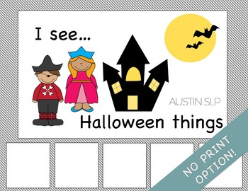 Adapted Book: I See Halloween Things