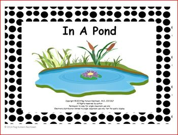In A Pond: Interactive Book