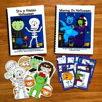 "Halloween Adapted Song Book--""It's a Happy Halloween"""