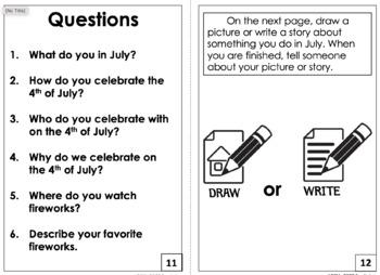 Interactve Book: July Is...