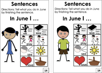 June Is: An Interactive Book