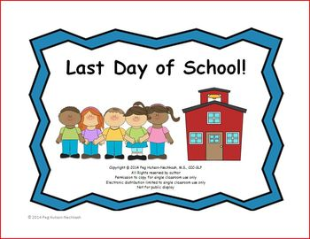 Interactive Book: Last Day of School