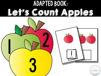Adapted Book: Let's Count Apples