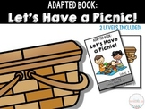 Adapted Book: Let's Have a Picnic!!