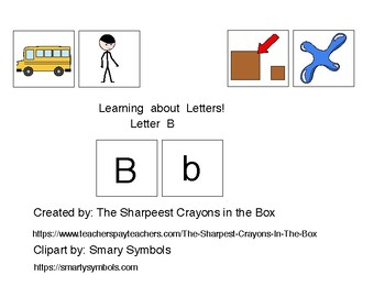 Adapted Book-Letter B