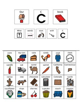 Adapted Book - Letter C