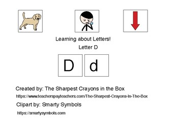 Adapted Book-Letter D