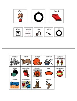 Adapted Book - Letter O