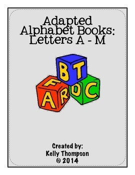Adapted Book - Letters A-M Bundle