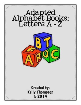 Adapted Book - Letters A-Z Bundle {COMPLETE SET}