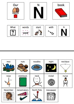 Adapted Book - Letters N-Z Bundle