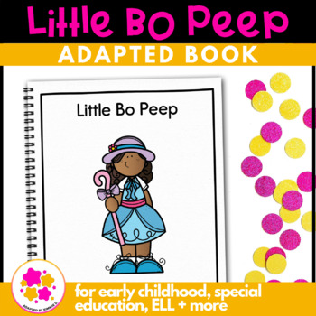 Little Bo Peep: Adapted Book for Early Childhood Special E