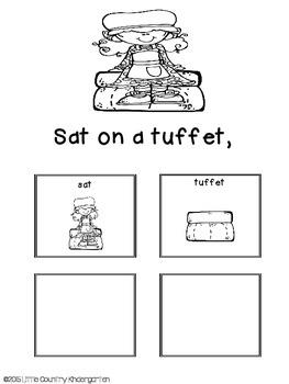 Adapted Book: Little Miss Muffet