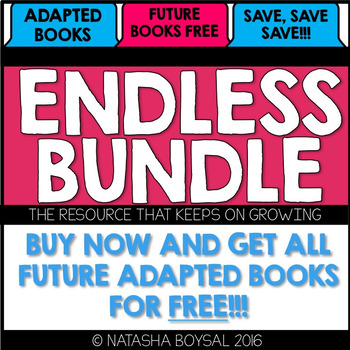 "Adapted Book ""ENDLESS BUNDLE"" (the resource that keeps on growing)"