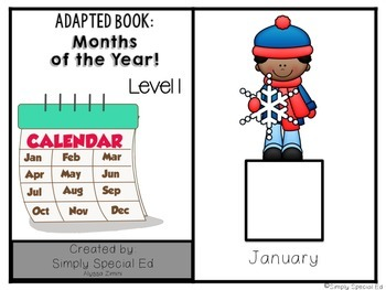 Adapted Book: Months of the Year