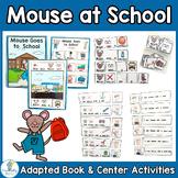ADAPTED BOOK-School (PreK-2/SPED/ELL)