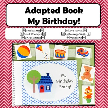 Adapted Book - My Birthday!