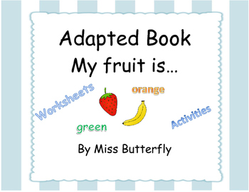 Adapted Book - My fruit is... colors