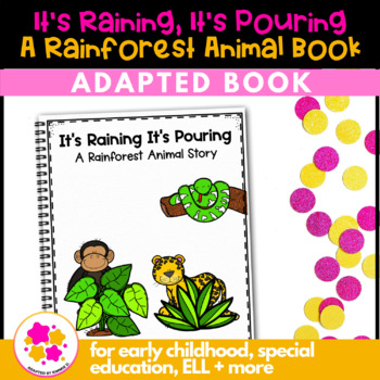 Parrot Parrot What Do You See?: Adapted Book for Students with Autism