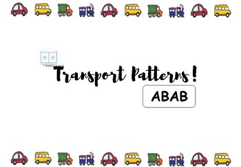 Adapted Book - Patterns (ABAB)