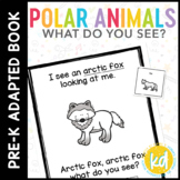 Penguin Penguin What Do You See?: Adapted Book for Students with Autism