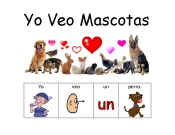 Adapted Book (Pets) - Spanish - Free Version
