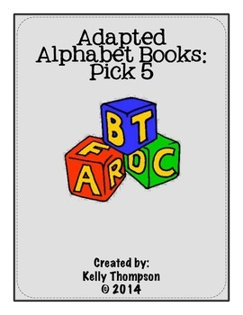 Adapted Book - {Pick 5 Books Bundle}