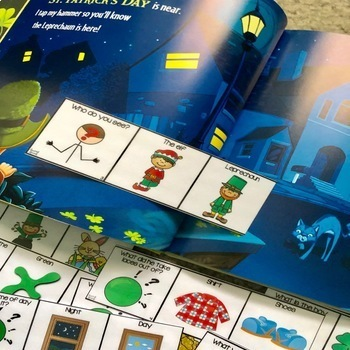 Adapted Book Piece Set for Speech & SPED {How to Catch a Leprechaun}