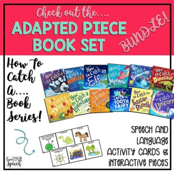 Adapted Book Piece Set for Speech & SPED {How to Catch a Snowman}