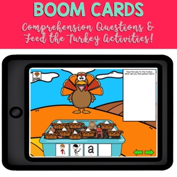 Adapted Book Piece Set for Speech & SPED {How to Catch a Turkey}
