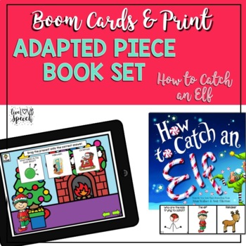 Adapted Book Piece Set for Speech & SPED {How to Catch an Elf}