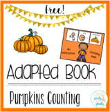 Adapted Book: Pumpkin Fall Counting