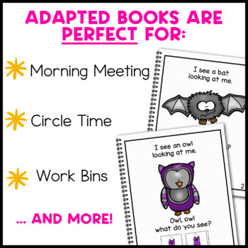 Pumpkin, Pumpkin What Do You See?: Adapted Book for Special Education
