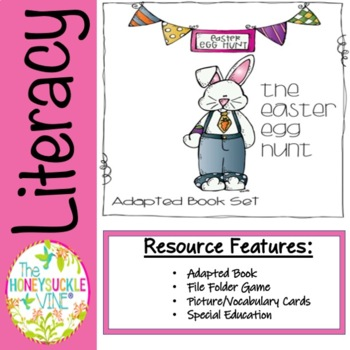 Adapted Book Set The Easter Egg Hunt