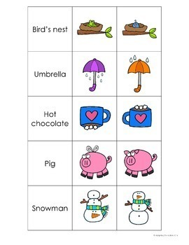 Adapted Book for Special Education: Silly and Just Right Picture Discrimination