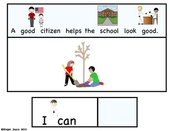 ADAPTED BOOK-Good Citizens (Autism/Special Education)